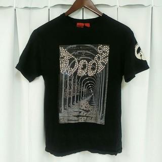 エーアンドジー(A&G)のamal guessous Tシャツ ブラック A&G エーアンドジー(Tシャツ/カットソー(半袖/袖なし))