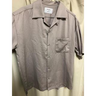ステュディオス(STUDIOUS)のSTUDIOS オープンカラーシャツ(シャツ)