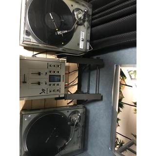 明日まで! technics sl1200 mk5 DJセット(ターンテーブル)