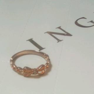 イング(INGNI)のリボンリング(リング(指輪))