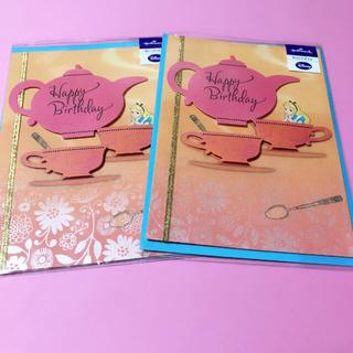 ディズニー(Disney)のディズニー アリス 立体バースデーカード 新品(カード/レター/ラッピング)