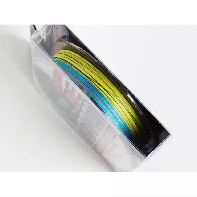 【送料無料】【3.5号】高強度PEライン300m巻き 5色マルチカラー!  スポーツ/アウトドアのフィッシング(釣り糸/ライン)の商品写真