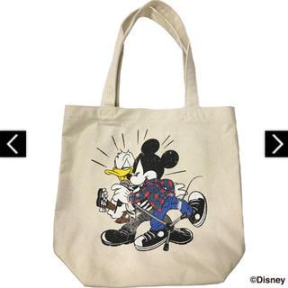 ディズニー(Disney)の【新品未開封】B'z × ディズニー トートバッグ ナチュラル(ミュージシャン)