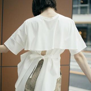 アメリヴィンテージ(Ameri VINTAGE)の完売!FISH TALE TEE ホワイト(Tシャツ(半袖/袖なし))