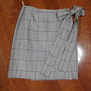 プラダ(PRADA)のプラダラップスカート新品未使用(ひざ丈スカート)