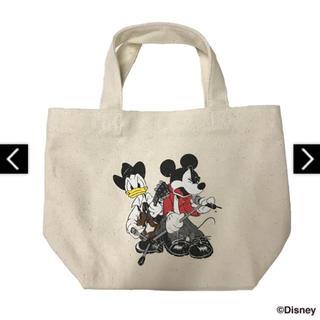 ディズニー(Disney)の【新品未開封】B'z × ディズニー ランチトート ナチュラル(ミュージシャン)