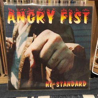 ハイスタンダード(HIGH!STANDARD)の【Hi-STANDARD】ANGRY FIST 国内盤アナログ 中古(ミュージシャン)