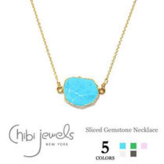 チビジュエルズ(Chibi Jewels)のchibi jewels ターコイズネックレス(ネックレス)