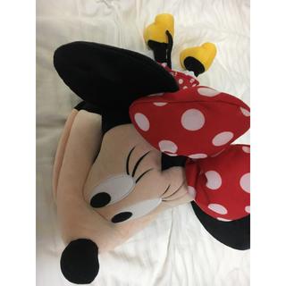 ディズニー(Disney)のディズニーランド ミニーちゃん 帽子 かぶりもの ディズニーシー(キャラクターグッズ)