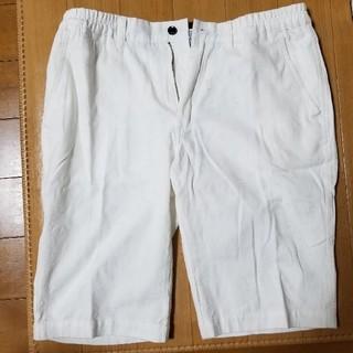 エービーエックス(abx)の新品未使用 白いハーフパンツ LLサイズ(ショートパンツ)