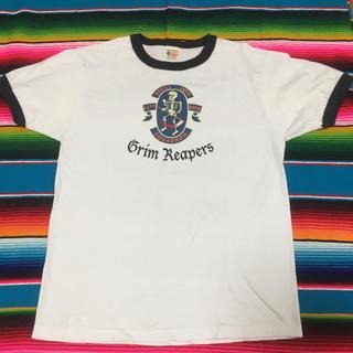 バズリクソンズ(Buzz Rickson's)のBUZZ RICKSON ヘンリーネック スカル US ARMY Tシャツ(Tシャツ/カットソー(半袖/袖なし))
