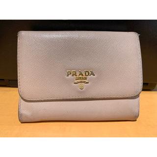 プラダ(PRADA)のプラダ サフィアーがま口財布(財布)
