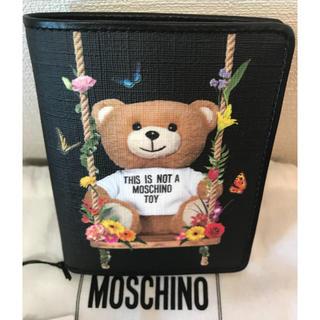 モスキーノ(MOSCHINO)の新品🖤モスキーノ🖤テディベア二つ折り財布(財布)