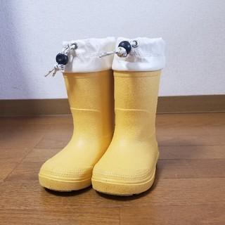ムジルシリョウヒン(MUJI (無印良品))の子ども長靴15-16㎝(長靴/レインシューズ)