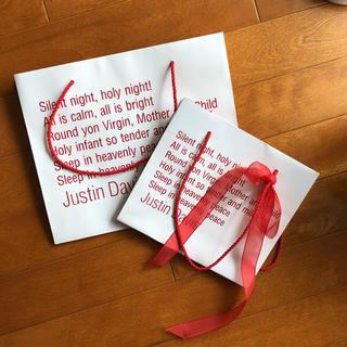 ジャスティンデイビス(Justin Davis)のJustin Davis  クリスマス限定ショッパー♪2枚セット(ショップ袋)
