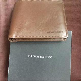 バーバリー(BURBERRY)のバーバリー財布新品期間限定(折り財布)