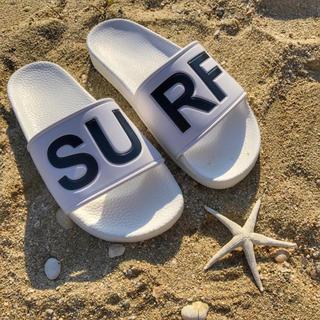 ハワイアナス(havaianas)のサーフブランド☆LUSSOSURF☆SURFサンダル42 ホワイト27.5 28(サンダル)