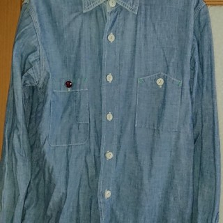 FOB FACTORYシャンブレーワークシャツ