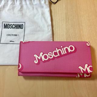 モスキーノ(MOSCHINO)のMOSCHINO x Barbie 長財布 モスキーノ お財布(財布)