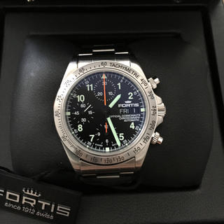 フォルティス(FORTIS)のフォルティス コスモノート クロノグラフ 未使用品 腕時計(腕時計(アナログ))
