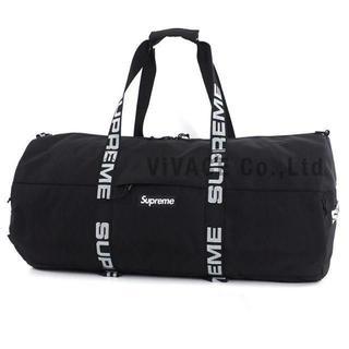 シュプリーム(Supreme)のSupreme Large Duffle Bag 黒 大(ドラムバッグ)