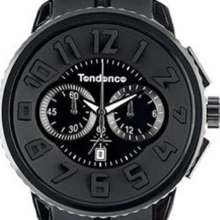 テンデンス(Tendence)のTendence(テンデンス)ガリバーラウンド クロノグラフブラック(その他)