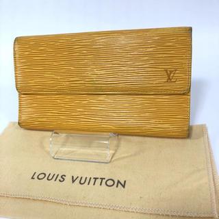 ルイヴィトン(LOUIS VUITTON)のLouis Vuitton ポルトフォイユ・インターナショナル エピ 長財布(財布)