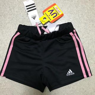 アディダス(adidas)の新品 定価4212円 女子 120 アディダス ジャージ 短パン ブラック(パンツ/スパッツ)