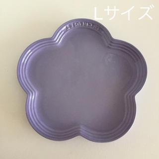 ルクルーゼ(LE CREUSET)のレア ! ルクルーゼ フラワープレート L 1枚(食器)