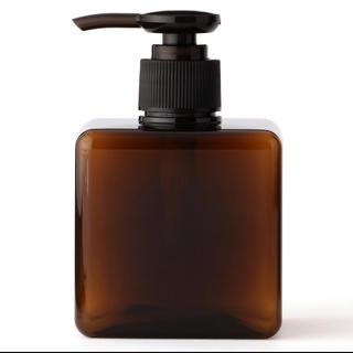 ムジルシリョウヒン(MUJI (無印良品))のPET詰替ボトル ホワイトとブラウン(日用品/生活雑貨)