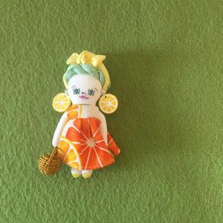 ドールチャーム   オレンジ(チャーム)