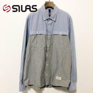 サイラス(SILAS)の【SILAS】バイカラーデザイン 長袖シャツ L(シャツ)