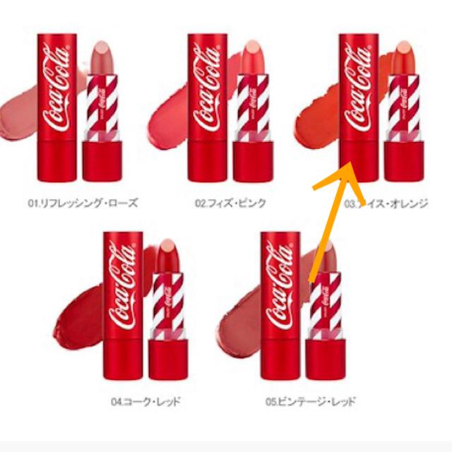 THE FACE SHOP(ザフェイスショップ)のザフェイスショップ×コカ・コーラ リップ コスメ/美容のベースメイク/化粧品(口紅)の商品写真