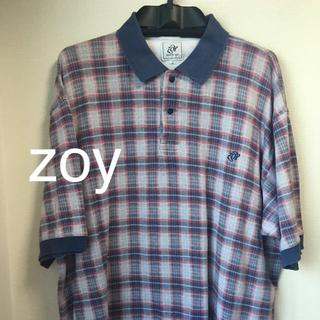 ゾーイ(ZOY)のzoy  ポロシャツ  チェック(ウエア)