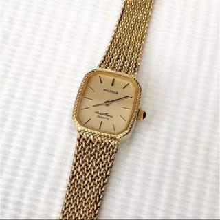 ウォルサム(Waltham)のウォルサム レディースクォーツ腕時計  電池あり(腕時計)