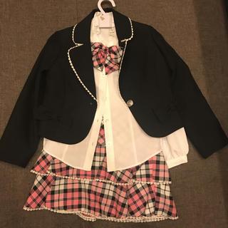 入学式  スーツ  120