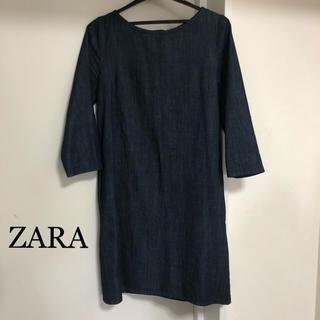 ザラ(ZARA)のお値下げして新規ページ作成済 ZARA ザラ ワンピース(ひざ丈ワンピース)