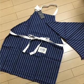 フランフラン(Francfranc)の新品⭐️フランフランキッズエプロン(三角巾付き)(その他)