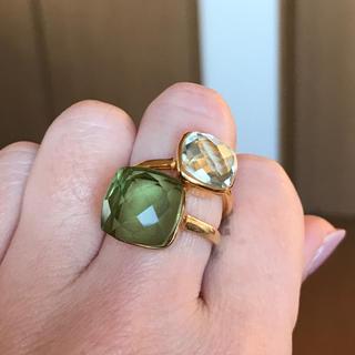 グリーンアメジストのリング♡9号(リング(指輪))