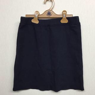 プチバトー(PETIT BATEAU)のプチバトー☆スウェットスカート(ミニスカート)
