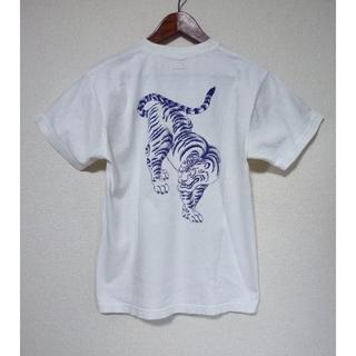 フェローズ(PHERROW'S)の送料込 フェローズ 匠 虎 和柄 Tシャツ ワンポイント バックプリント(Tシャツ/カットソー(半袖/袖なし))