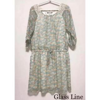 グラスライン(Glass Line)の未使用 ☆glass line☆ ワンピース M(ひざ丈ワンピース)