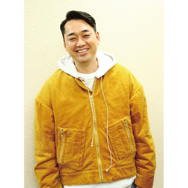 バナナマン 設楽統 着用 ジャケット ブルゾン メンズのジャケット/アウター(ブルゾン)の商品写真