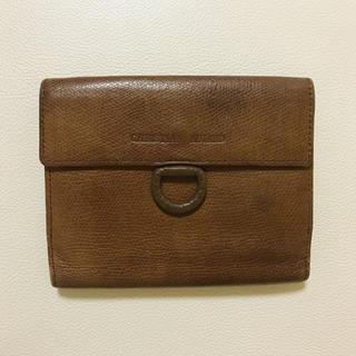 クリスチャンオジャール(CHRISTIAN AUJARD)のCHRISTIAN AUJARD クリスチャンオジャール 茶 二つ折り財布(財布)