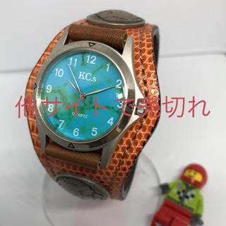 ケイシイズ(KC,s)の【状態〇】No11☆KC's☆チチカカ☆オーシャン☆メンズ腕時計(腕時計(アナログ))