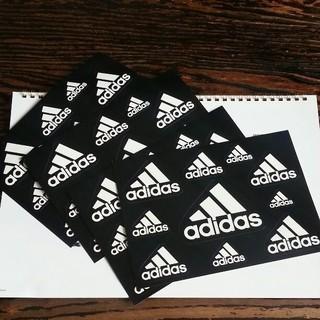 アディダス(adidas)の☆adidas アディダス ステッカー 非売品 4枚セット(ノベルティグッズ)