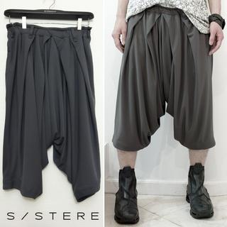 SISTERE ONE-PIECED HAKAMA PLEAT TROUSERS
