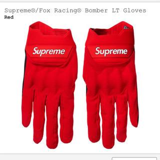 シュプリーム(Supreme)のsupreme fox racing 手袋 M(手袋)
