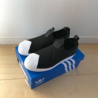 アディダス(adidas)の新品 アディダス スーパースター スリッポン 23.5(スリッポン/モカシン)