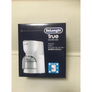 デロンギ(DeLonghi)のデロンギ トゥルー ドリップコーヒーメーカー(コーヒーメーカー)